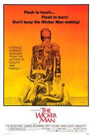 The Wicker Man 1973 with Edward Woodward, Christopher Lee, Diane Cilento and Britt Ekland. Horror Movie Posters, Horror Films, Music Posters, Man Movies, Cult Movies, 2020 Movies, Movies Free, Michael Myers, Christopher Lee