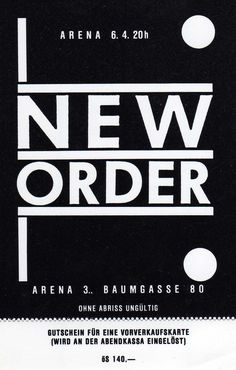 Age of Consent, New Order