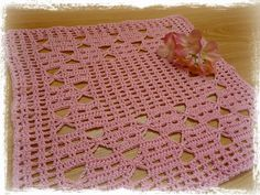 Yellow, Pink and Sparkly: Portcullis Doily