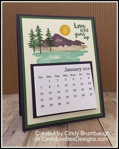 January 2018 Hello there! I wanted to share another neat item we made at our Occasions Catalog Kick Off last weekend. Since it was January, it was the perfect time to make a calendar…. Calendar Pages, Desk Calendars, Calendar Ideas, Calendar Templates, Graphic Design Magazine, Magazine Design, Perpetual Birthday Calendar, Calendar Design, Calendar Layout