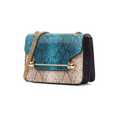 Snake Crossbody Bag Simona 3 colors (blue 7a261b19c55e3