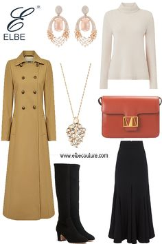 Outfit of the Day is a winter style Fashion Sets, Royal Fashion, Womens Fashion, Haute Couture Designers, Cute Muslim Couples, Modest Outfits, Winter Style, Capsule Wardrobe, Frocks