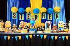 Quer fazer uma festa infantil Minions? Veja essas ideias super legais! Separamos inúmeras decorações e inspirações para festa infantil no tema Minions.