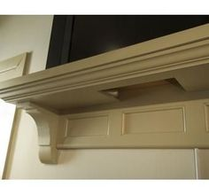 Custom Made Mantle to hide cable box