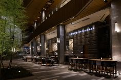 Above Grill & Bar by SWANS I.D., Tokyo – Japan » Retail Design Blog