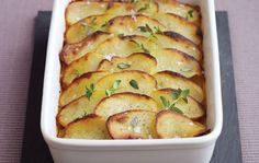 This delightful recipe allows you to prepare potato Boulangères quickly and easily with your Kenwood UK Cooking Chef. Greek Recipes, New Recipes, Salad Recipes, Cooking Recipes, Food Processor Uses, Food Processor Recipes, Potato Dishes, Recipe Images, Vegetable Recipes