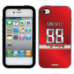Tony Gonzalez - Color Jersey on iPhone 4 / 4S Guardian Case by Coveroo #Falcons #AtlantaFalcons  http://www.fansedge.com/Tony-Gonzalez---Color-Jersey-on-iPhone-4-4S-Guardian-Case-by-Coveroo-_-939673474_PD.html?social=pinterest_pfid55-03042