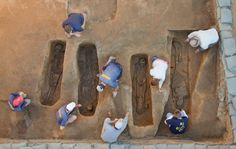 Pictures: New discovery rewrites history at Jamestown with the identification of four burials found inside the 1608 church. http://bit.ly/1MrDB8w -- Mark St. John Erickson
