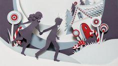 Helen Musselwhite - Hansel and Gretel - paper art Paper Cutting, Cut Paper, Book Cover Design, Book Design, Arte Pop Up, Pop Up Card, Hansel Y Gretel, Play Poster, Helen Musselwhite