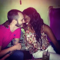 at this point I'm just searching for couples I haven't seen before. This couple is new to me. #bwwm #wmbw #interracial