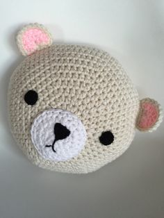 Crochet Polar Bear ~ this is a purchased item from Etsy