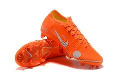 fef9f2a05537 Nike Magic Orange Low Mercurial Vapor 12 Elite SE FG X 360 New SOCCER  Cleats