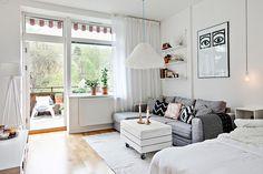 Les petites surfaces du jour : un studio avec terrasse - PLANETE DECO a homes world