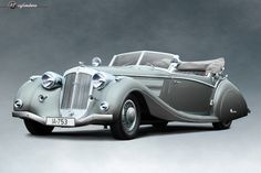 The Car: Horch 853 Sport Cabriolet by Voll & Ruhrbeck, #853558, 1937  12cylinders