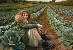 the fall classic: natalia vodianova by annie leibovitz for us vogue october 2014