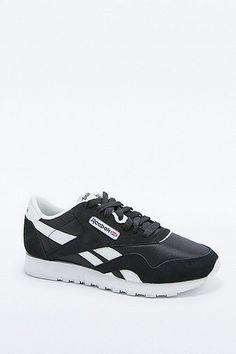 Reebok Classic - Sneaker in Schwarz-Weiß - Damen 32 Reebok Schwarz 74c19d0a2