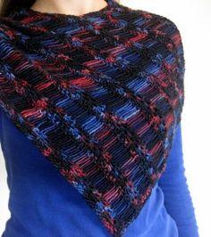 Estrellas fugaces capucha cubre los hombros también :)