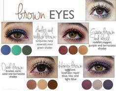 eyeshadow looks for hazel light brown eyes Hazel Brown Eyes, Brown Eyes Pop, Eyeshadow For Brown Eyes, Makeup For Brown Eyes, Colorful Eyeshadow, Colorful Makeup, Shades Of Brown Eyes, Dark Eyes, Avon Eyeshadow