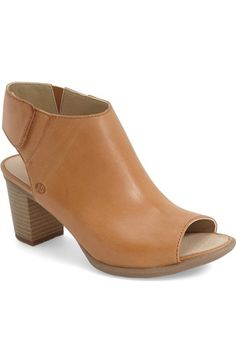Josef Seibel 'Bonnie' Open-Toe Bootie (Women) available at #Nordstrom