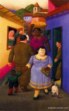 FAMOSOS DE COLOMBIA: FERNANDO BOTERO | fernando_botero_paintings_64.jpg