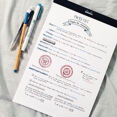 PHYSICS INTRODUCTION STUDY NOTES @studytildawn on Tumblr
