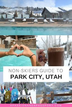 Looking for your next winter weekend destination? Be sure to check out Park City Utah, my new favorite place! What to do in Park City Besides Ski? Park City Mountain, Mountain Biking, Ski Park, Snowboard, Mountain Vacations, Utah Vacation, Summer Vacations, Salt Lake City Utah, Downtown Salt Lake City