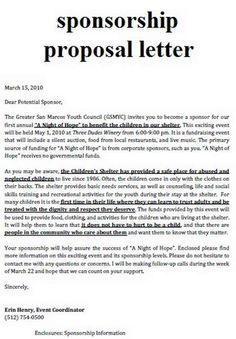 Community Development Letter  Pto    Fundraising