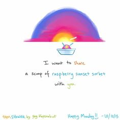 Post with 22 views. Some place in the world doesn't have a sky. Life Humor, Sorbet, Happy Day, Grateful, Raspberry, Lol, Sunsets, Places, Comics