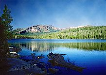 Camanche Lake in beautiful Northern California. I learned to water ski here!