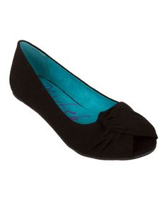 Look at this Black Cozumel Ballet Flat on #zulily today!