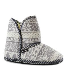 Look at this Woodland Nordic Knit Slipper Boot on #zulily today!