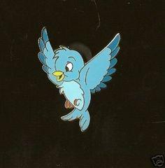 Cinderellas' Blue Bird LE 500 Disney Pin (02/20/2008)