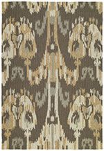 Kaleen Graphite Habitat Outdoor Baja Ikat rug - Contemporary Rectangle x Kaleen Rugs, Clearance Rugs, Modern Area Rugs, Rugs Usa, Rectangular Rugs, Indoor Outdoor Area Rugs, Outdoor Decor, Contemporary Rugs, Throw Rugs