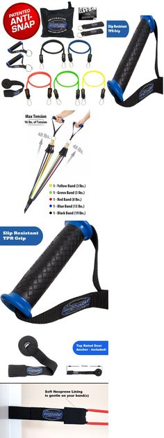 Resistance Trainers 79759: Snap Anti Resistance Bands Set Bodylastics Best 12 Pcs Patented Exercise Heavy -> BUY IT NOW ONLY: $36.99 on eBay!