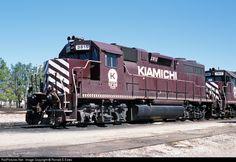 RailPictures.Net Photo: KRR 3815 Kiamichi Railroad EMD GP38 at Hugo, Oklahoma by Ronald E Estes