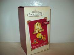 Hallmark Keepsake Looney Tunes Tweety Jingle All the Way Ornament 2003