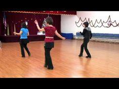 Come On And Tango - Line Dance (Dance & Teach) - YouTube
