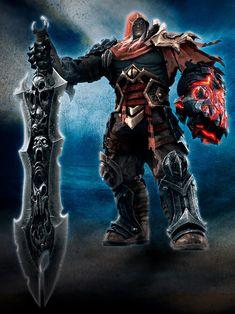 The Four Horsemen of the Apocalypse Darksiders Horsemen, Darksiders Death, Darksiders Game, Game Character, Character Concept, Concept Art, Character Design, Character Ideas, Dark Fantasy