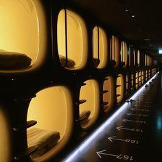 柴田文江, Fumie Shibata / Design Studio S – Capsule hotel, 9h ninehours 成田空港, Narita Airport, Japan