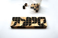 Typocraft: a block set by ChrisClarke. The user can form letters from the blocks.