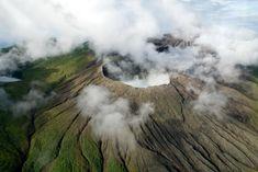 Un beau parc pour voir des manifestations volcaniques