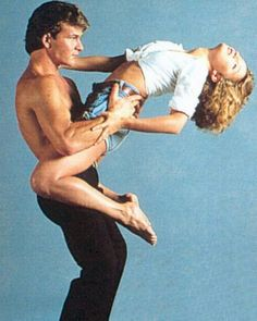 """Take a look at the best patrick swayze outfits in the photos below and get ideas for your cute outfits! Johnny & Baby- """"Dirty Dancing""""–Swayze & Grey Lit Up The Screen In This Classic Film…Oh, And What A Dancing Pair…. Dirty Dancing, Dancing Couple, Dancing Baby, Beau Film, Patrick Swayze, Iconic Movies, Old Movies, Amazing Movies, I Movie"""