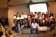 """Nella sede di Seat Pagine gialle si è svolta venerdì sera la premiazione dei vincitori del """"Digital for creativity"""" un premio organizzato nell'ambito del Digital Festival che si è svolto a Torino in questa settimana FOTOSERVIZIO JUZZOLINO"""