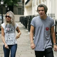 harry and lou. love his little amused face!