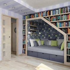 really need this kind of reading room or....just make it one for my room. it'd be perfect
