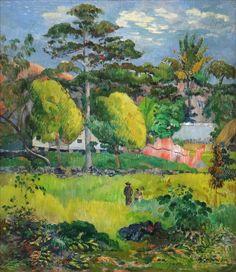 thatmarginalia: Paysage (Paul Gauguin) — 1901
