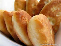 320. Fried yeast cakes with potatoes