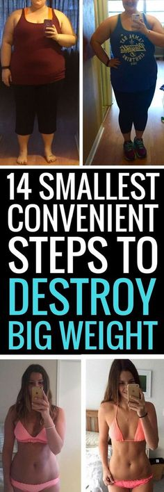 14 simplest tiniest changes to lose weight fast.