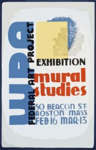 WPA Federal Art Project Exhibition