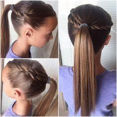 Cute Easy Hairstyles For School 10 Easy School Hairstyles For Girls  Melani  Pinterest  Easy
